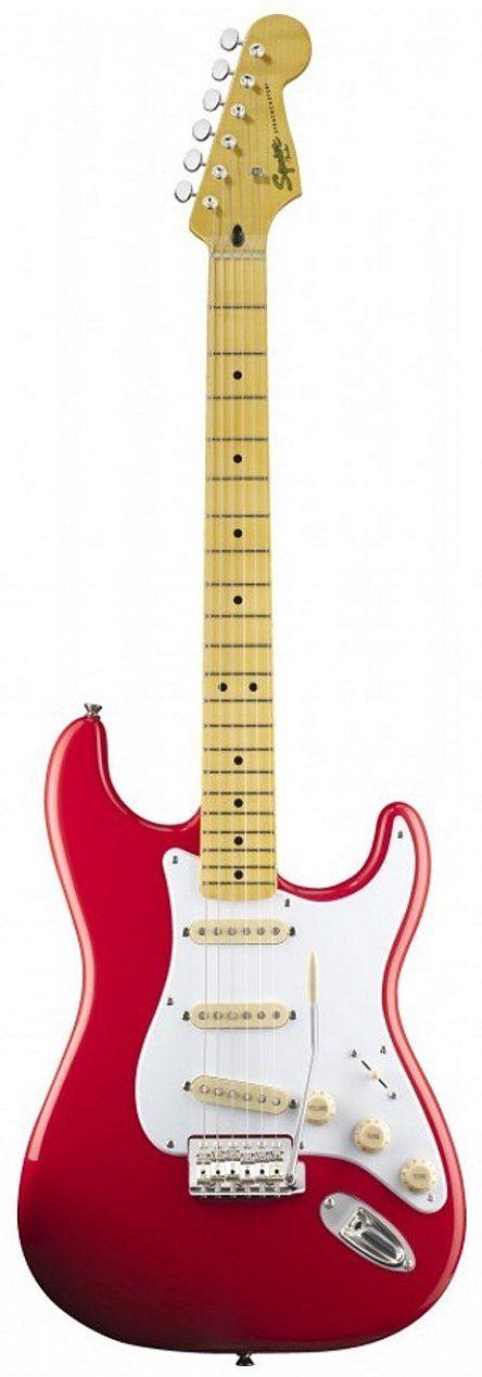 Guitarra Fender Squier Classic Vibe Stratocaster 50s   SSS Fiesta Red - BarraMusic Instrumentos Musicais