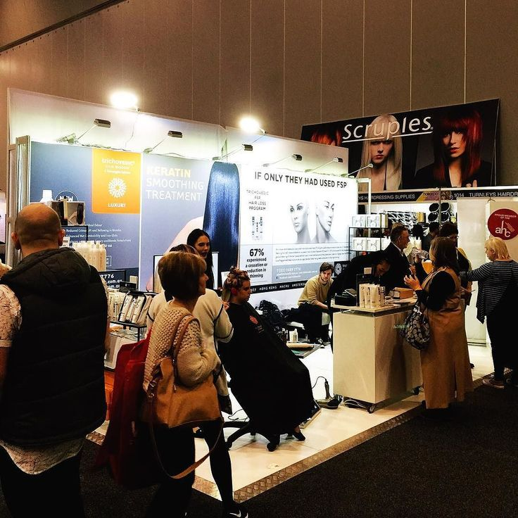 Day two at Hair Expo! Come and visit us at stand 1122. Look for the giant orange Trichovedic banner. #trichovedic #luxuryhaircare #hairwisdom #hairexpo