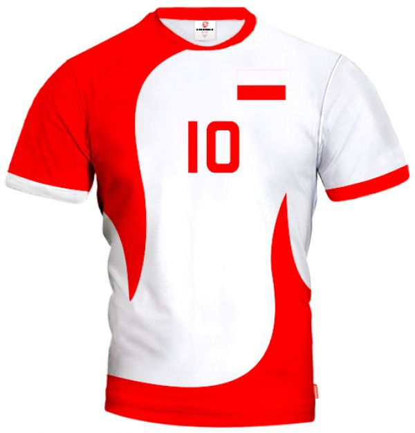 ACTIVE Poland Volleyball Jersey With Custom Name and Number