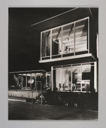 90/1026 Photographic print, black and white, 'House of Tomorrow', paper, Wolfgang Sievers, Melbourne, Victoria, Australia, 1949 [printed 1990] - Powerhouse Museum Collection