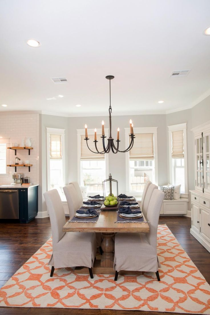 25 best contemporary window treatments ideas on pinterest for Joanna gaines dining room designs