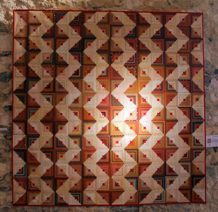 270 Best Images About Log Cabin Quilt Layouts On Pinterest