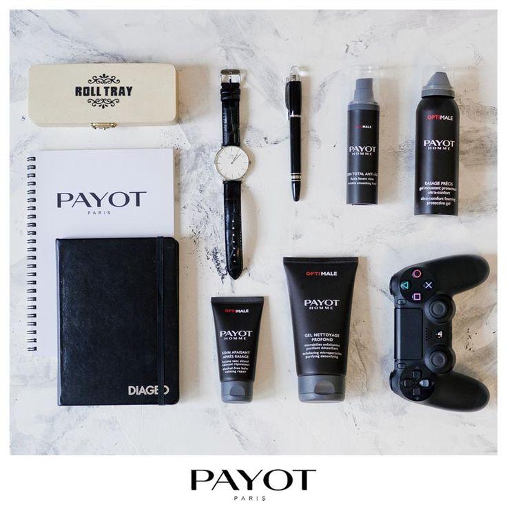 #Payot -  Линия OPTIMALE. Энергия минералов для мужской кожи.