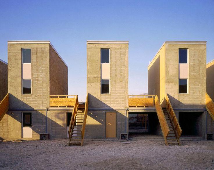 Quinta Monroy / Elemental | Alejandro Aravena | Social Arch | Concrete Structure | Cement Brick Material |