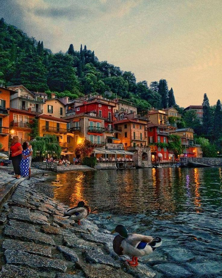 Varenna in Lake Como, Italy