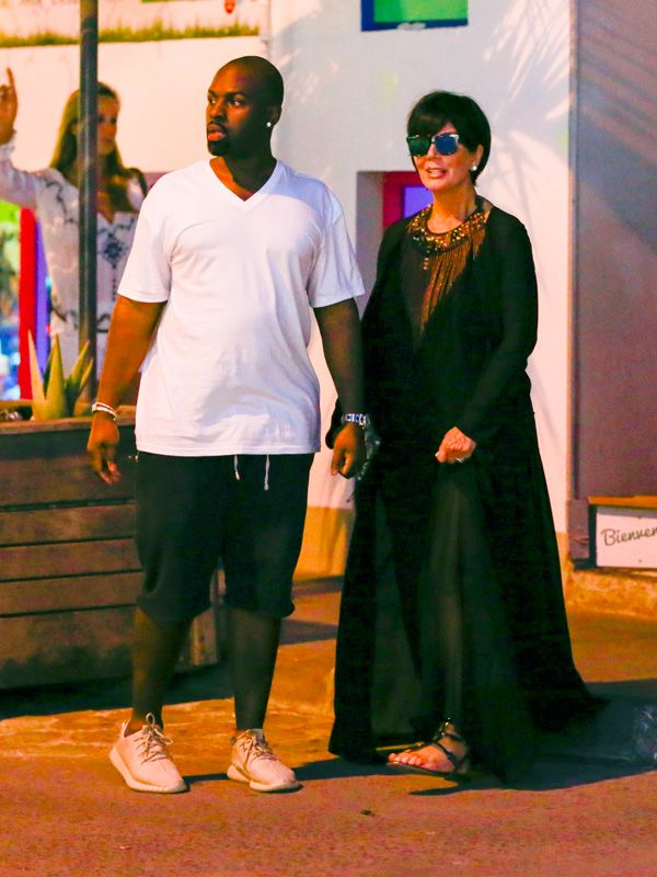 Kris Jenner vacation style