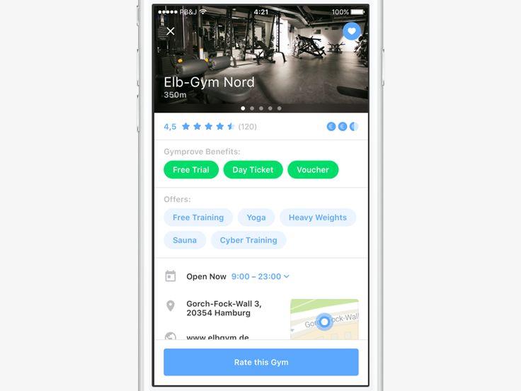 Gym-Finder App
