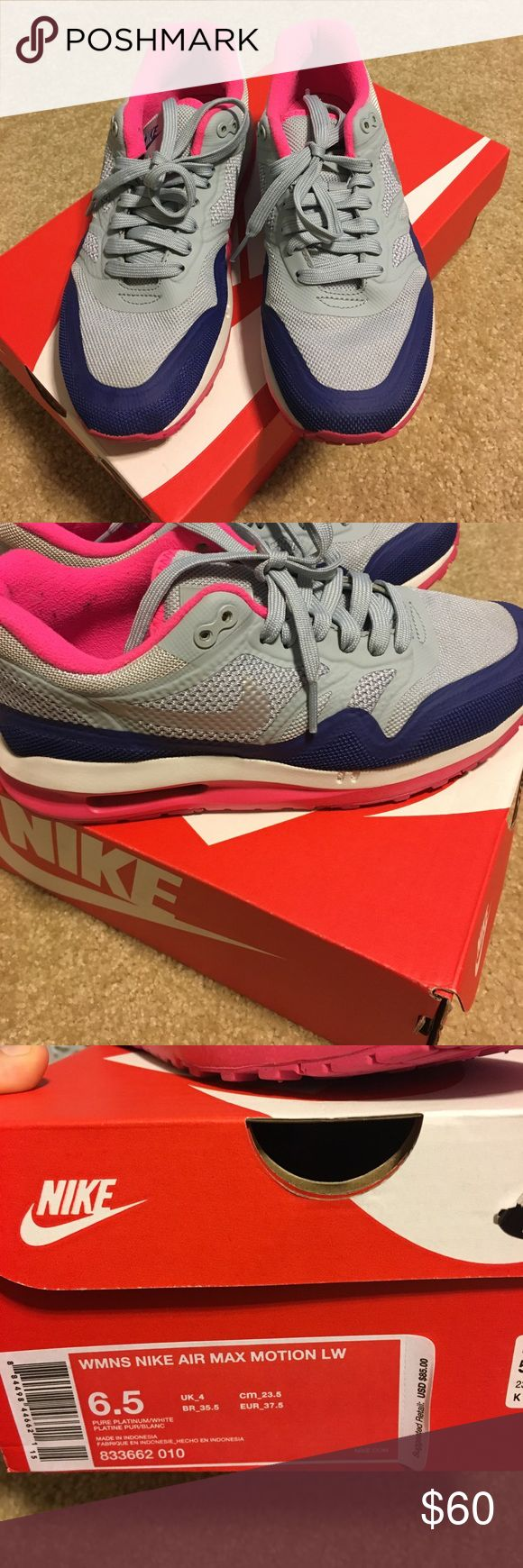 Women's size 6 1/2 Nike air max Women's Nike air max very comfortable worn a few times in excellent very clean condition as you can see from pictures retail price is $85 open to responsible offers Nike Shoes Athletic Shoes