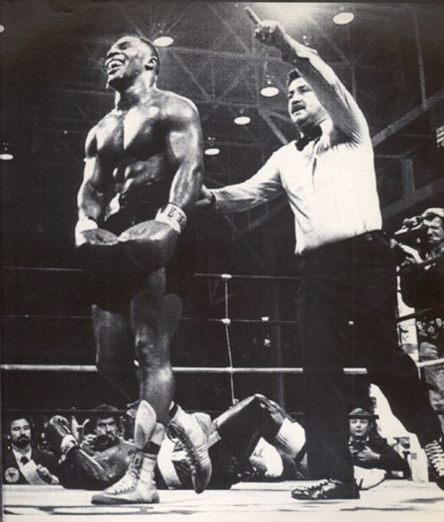"""""""Iron"""" Mike Tyson in his heyday."""