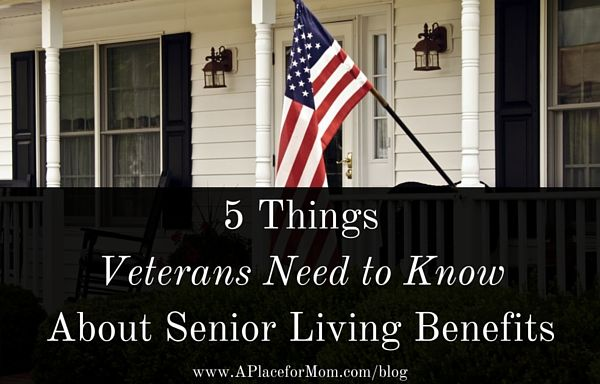 VA benefits are one of the best-kept secrets to paying for senior care. Learn what things veterans need to know about senior living.