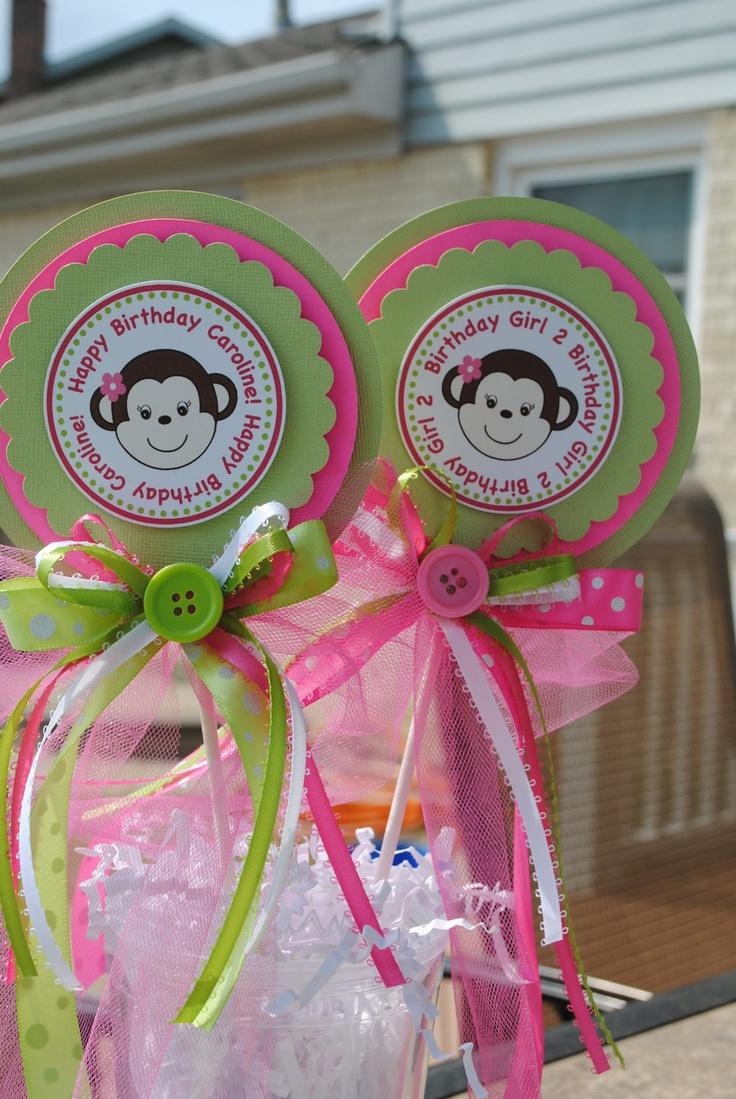 Best ideas about monkey centerpiece on pinterest