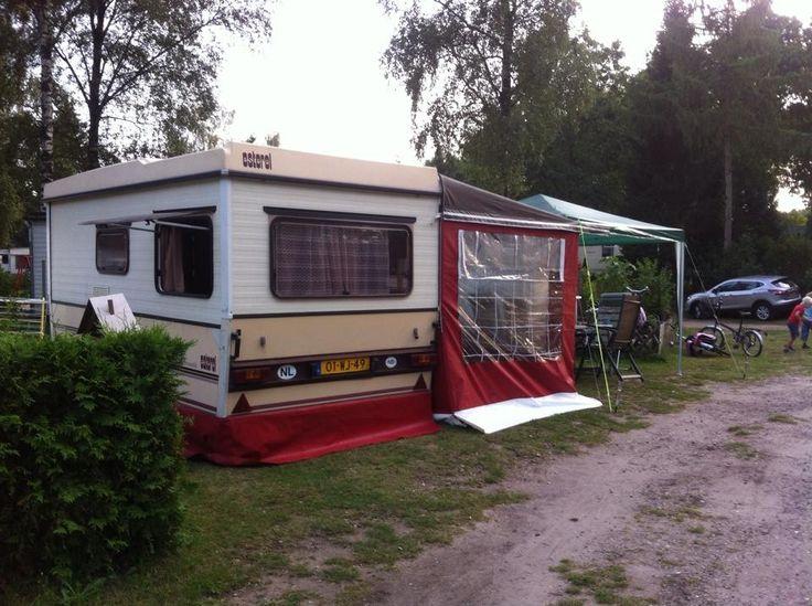 Esterel folding caravan with awning. | Vintage camper, New ...