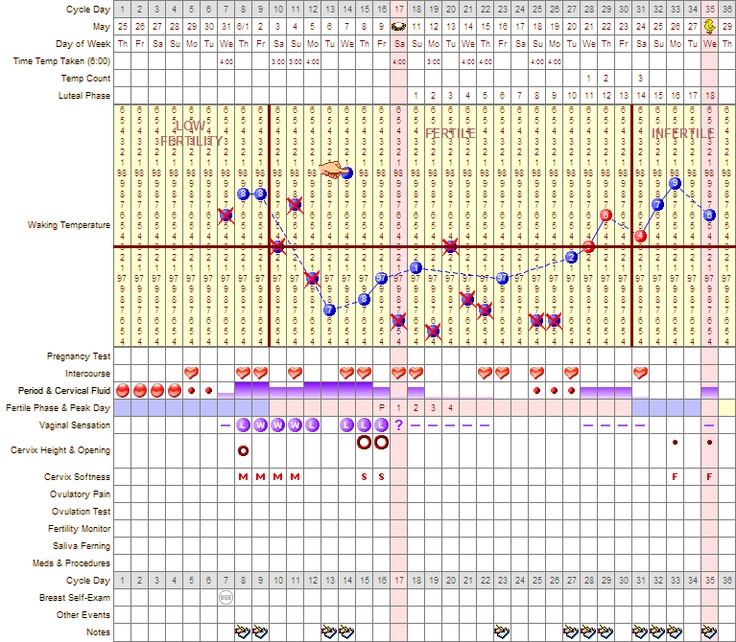 It is a picture of Transformative Printable Fertility Chart