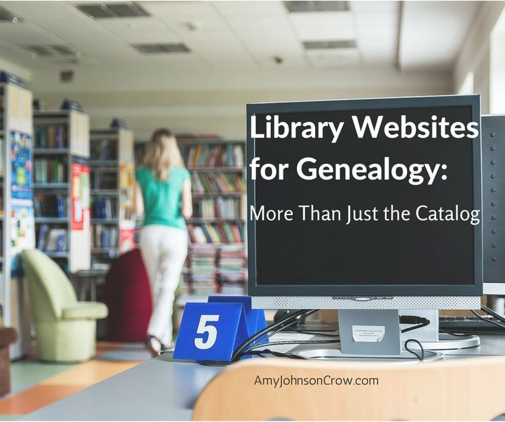 The value of library websites for genealogy goes well beyond the online catalog. Libraries of all sizes are adding more and more online data.