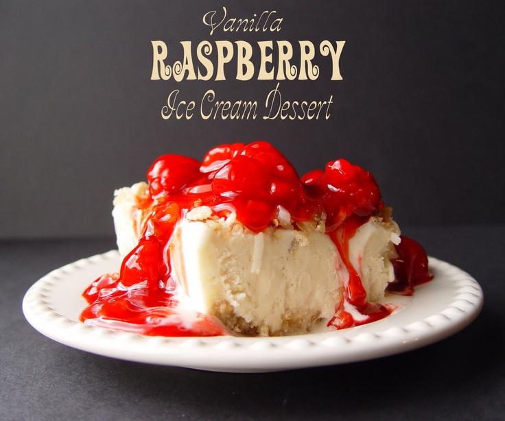 Jamie Cooks It Up!: Vanilla Raspberry Ice Cream Dessert