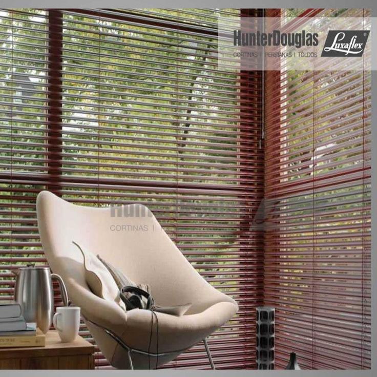 Persianas Horizontales de Aluminio HunterDouglas Luxaflex®
