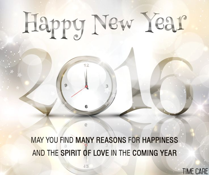 #NewYear wishes from Time Care !
