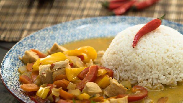 Rotes Thai-Curry - Rezept mit Video - kochbar.de