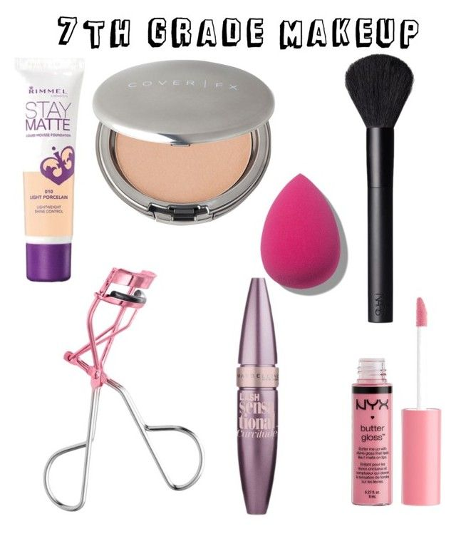 7th Grade Makeup by camryn629 on Polyvore featuring polyvore beauty NARS Cosmetics Cover FX Maybelline Charlotte Russe Rimmel