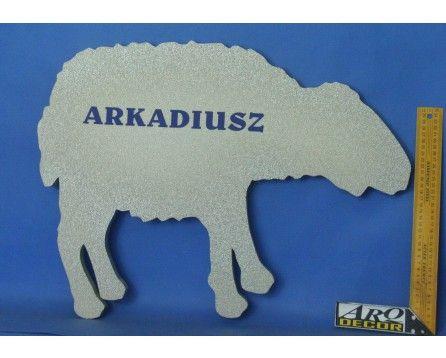 Baranek - Owca + Imiona - Dekoracje Na Pierwszą Komunię (NA ZAMÓWIENIE) - ARQ - DECOR | Pracowania Dekoracji ARQ DECOR