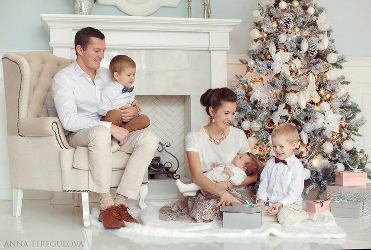 Идеи для новогодней фотосессии с ребенком | Новый год 2017 Дома