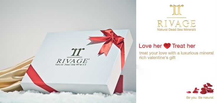 Only at www.rivagebeautyshop.com