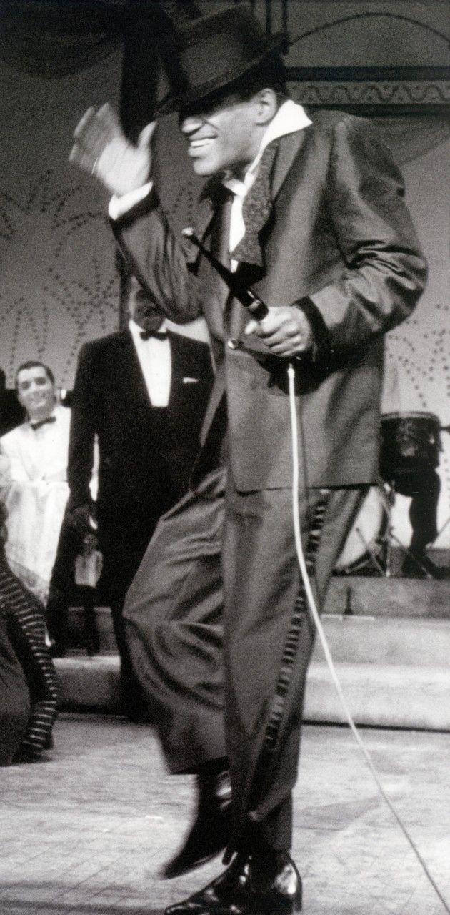 Sammy Davis, Jr. photographed by Milton Greene, 1956. S)