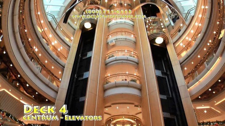 Enchantment of the Seas FULLY GUIDED SHIP TOUR 2015