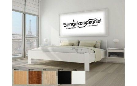 160x200 cirka 3500,00  Senge med kvalitet - Sengekompagniet har mærkevarer på tilbud Model 421 - Kaagaard - Sengerammer