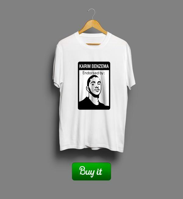 Karim Benzema | #Karim #Benzema #Реал #Мадрид #Real #Madrid #Club #Futbol #футбол #футболка #tshirt
