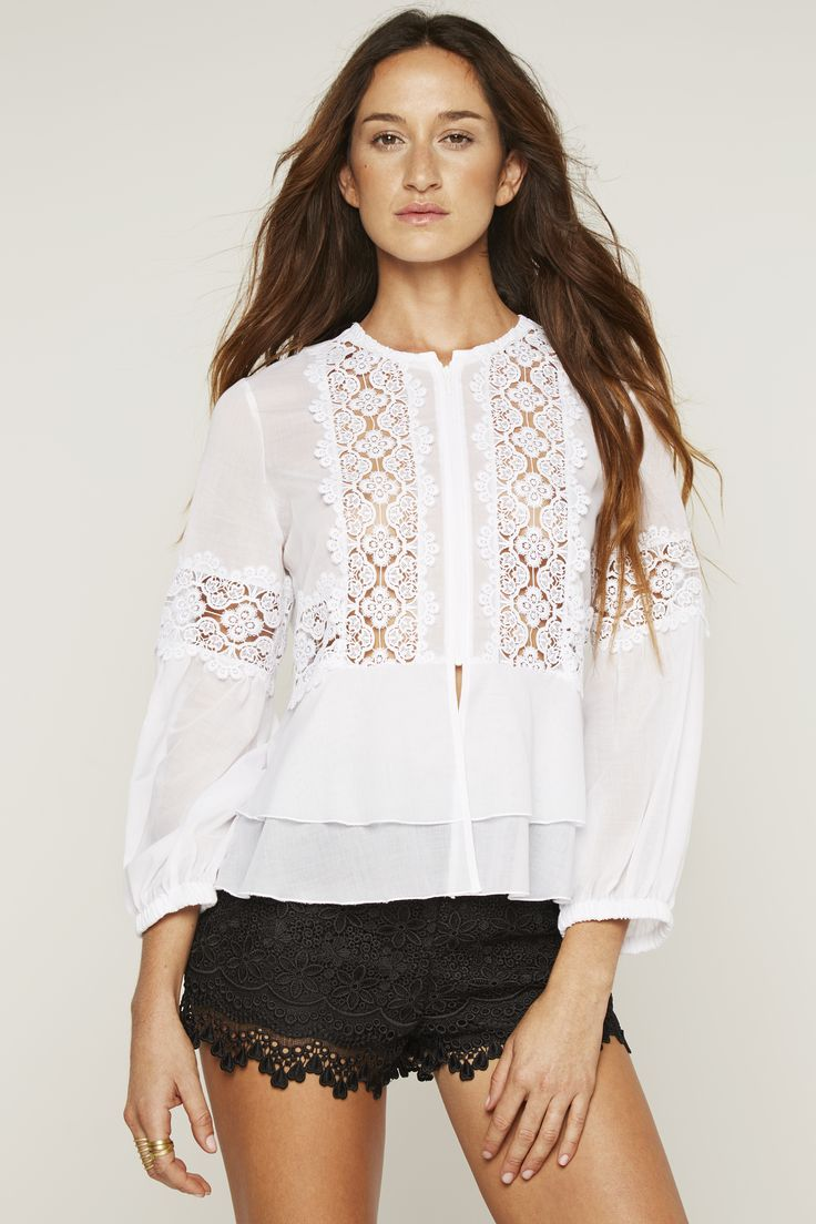 SHIRTS - Blouses Charo Ruiz Ibiza Clearance Shop Offer Buy Cheap Prices Cheap Amazon Discount In China q0VSELhLLH