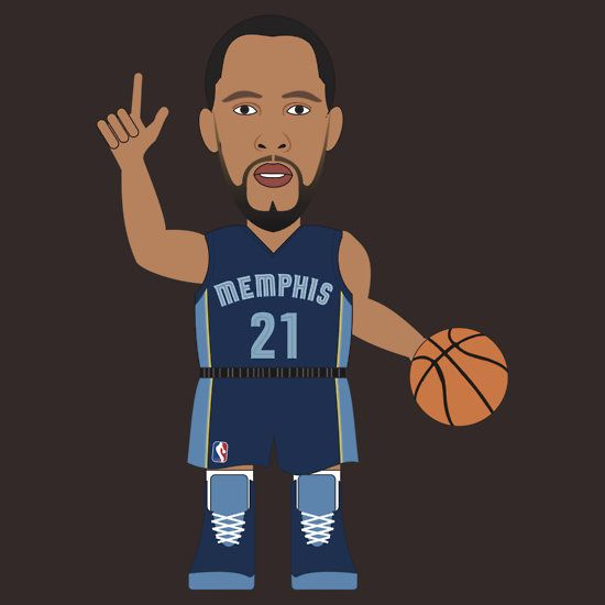 NBAToon of Tayshaun Prince, player of Memphis Grizzlies by D4RK0
