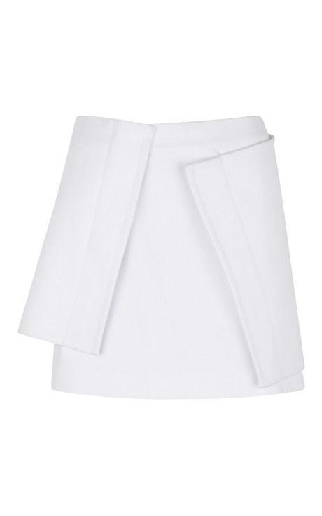 White Honeycomb Brick Skirt by J.W. Anderson for Preorder on Moda Operandi