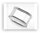 Sterling Silver Napkin Ring - Octagonal - Made in Italy $137.50
