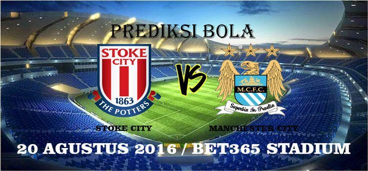 Prediksi Stoke City vs Manchester City 20 Agustus 2016