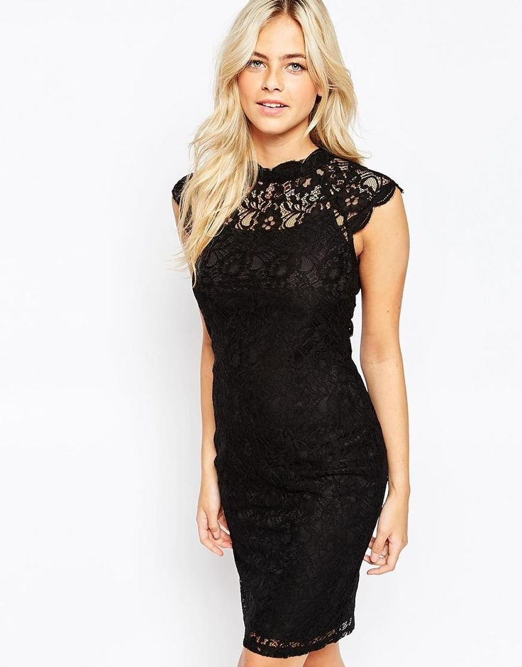 Oasis | Oasis Gothic Lace Dress at ASOS