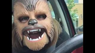 LAUGHING CHEWBACCA MASK LADY (FULL VIDEO) - YouTube
