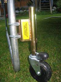 Trampoline Wheels & Trampoline Accessories
