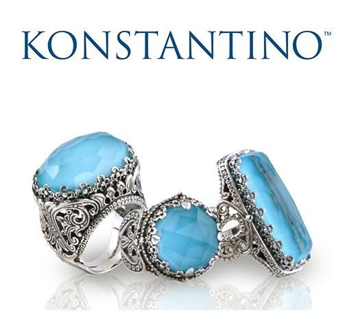 Spring Break with delicious konstantino jewels! Trunk shows on May 3rd at Neiman Marcus stores:  1) 7027 Friars Road San Diego,CA, 2) Austin 3400 Palm Way AUSTIN, TX,  3) 2442 East Sunrise Blvd Fort Lauderdale, FL