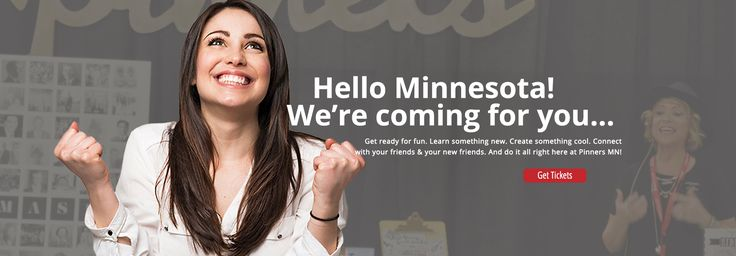 How awesome, the Pinners Conference is coming to Minnesota next June (22/23)! -JT