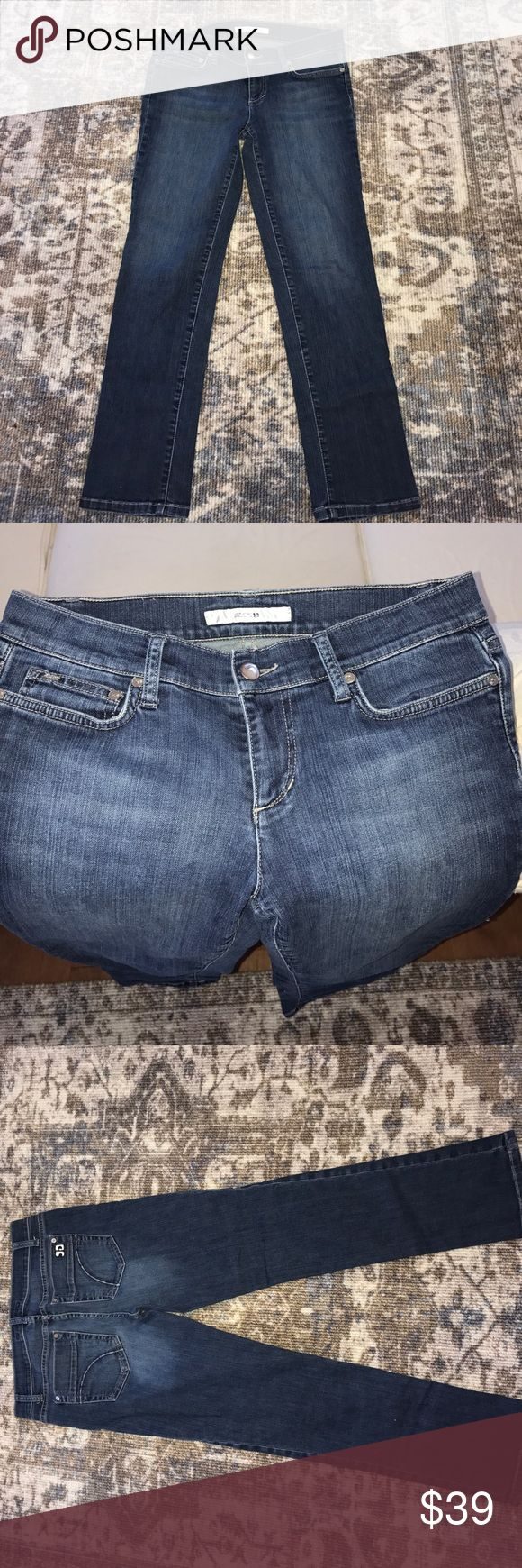 Joe's Jeans Cigarette Ankle size 28 Beautiful dark wash. Very lightly (almost never) used. In excellent condition, this is the perfect denim to dress up! Joe's Jeans Pants Skinny
