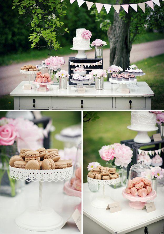 Quanto siete #golose? Ecco un bellissimo allestimento per il tavolo dei #dolci del #matrimonio!