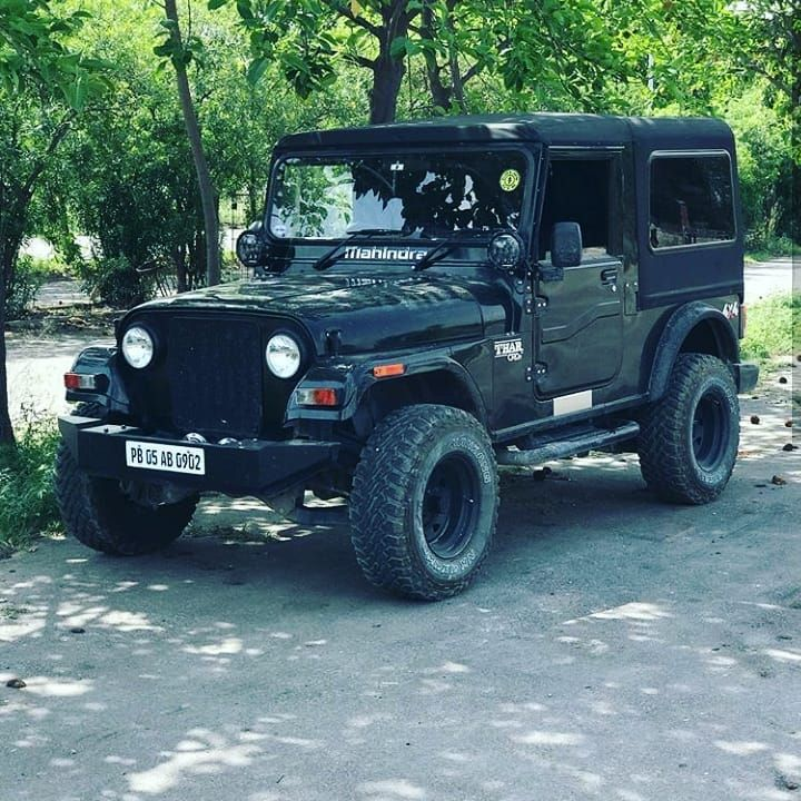 Pin By Santosh Mishra On Thar Mods In 2020 Mahindra Jeep Mahindra Thar Jeep Mahindra Thar