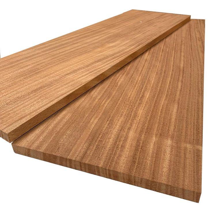 Best Swaner Hardwood 1 In X 12 In X 6 Ft African Mahogany 400 x 300
