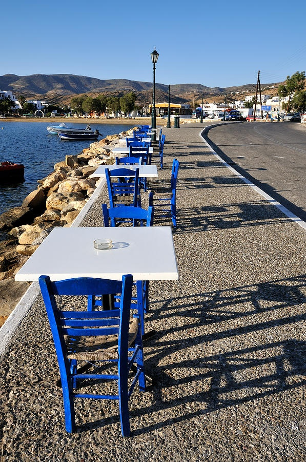 Ios Island Harbour, Greece