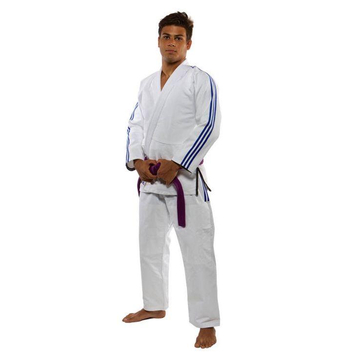 Kimono Jiu Jitsu Brésilien adidas Contest JJ430 blanc
