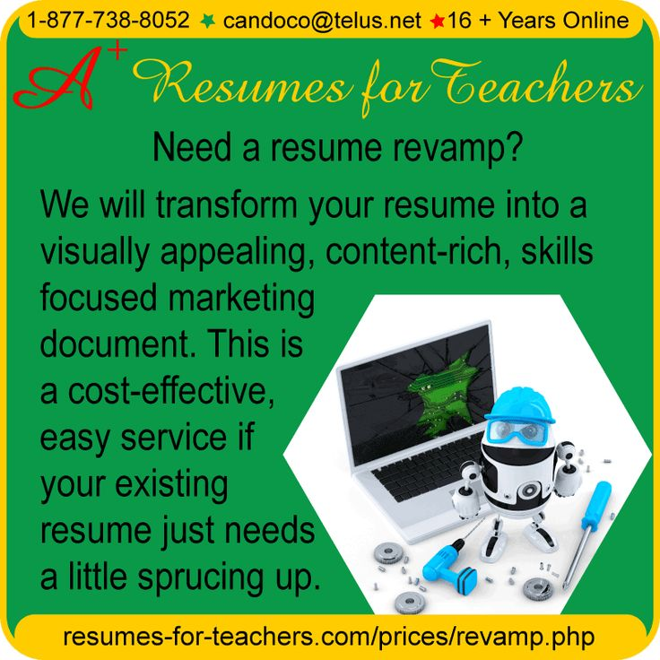 educators resume revamp or second objective resume writing service