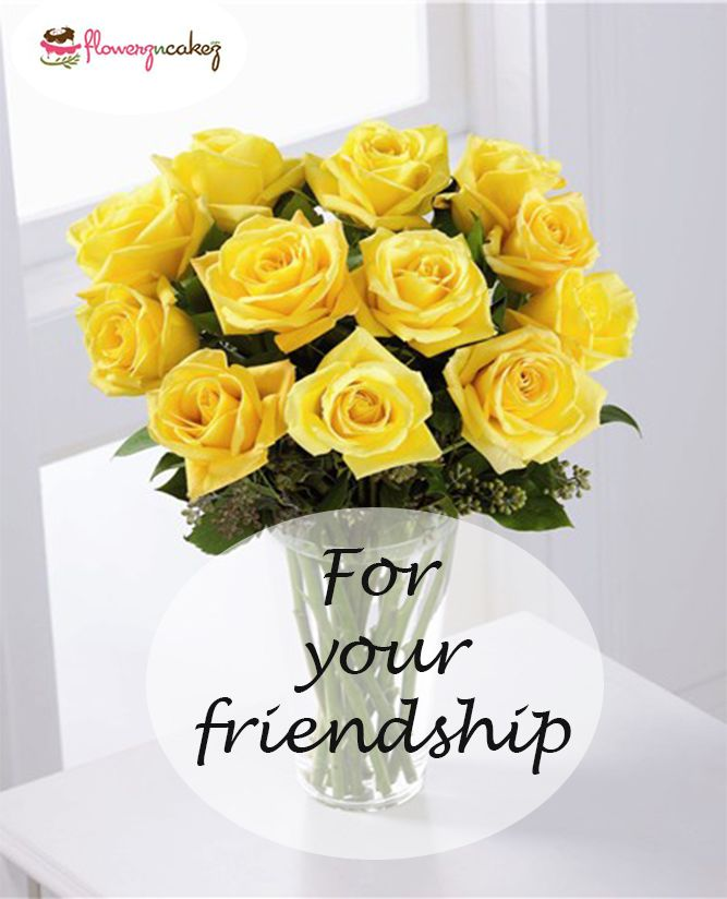 Yellow roses create warm feelings and provide happiness. Giving yellow roses can tell someone the joy they bring you and the friendship you share. ORDER NOW - http://www.flowerzncakez.com/dainty-darling.htm?search=DAINTY #Flowers #friendship #yellowrose #health #joy #onlineshop #ordernow