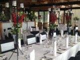 Black and white décor at Yarra Ranges Estate. Winery Wedding | Yarra Valley Wedding | Dandenong Ranges Wedding