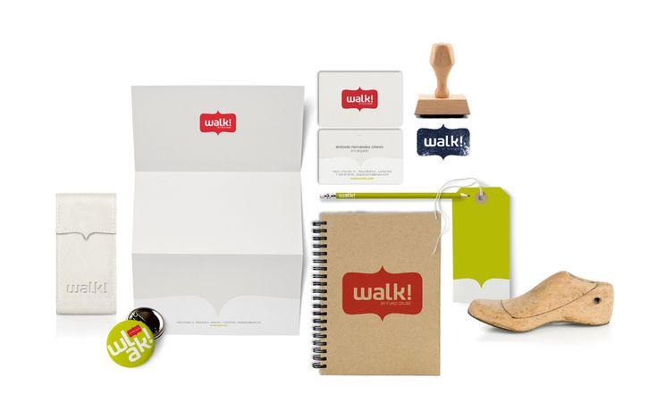 Mostaza Design   Walk! by Fund Grube   Lanzarote, Gran Canaria   Shoes & Accessories Shop   Identity aplications   Brand design by David de Ramón y Blas Rico   #retaildesign #branding #mostazadesign #fundgrube #interiordesign #interiors #graphics #design